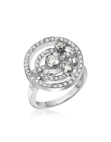 0.62 ctw Diamond 18K Gold Ring