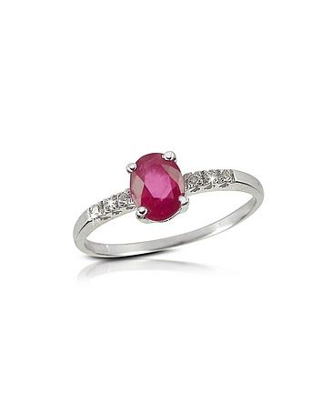 Incanto Royale - Ruby and Diamond 18K Gold Ring
