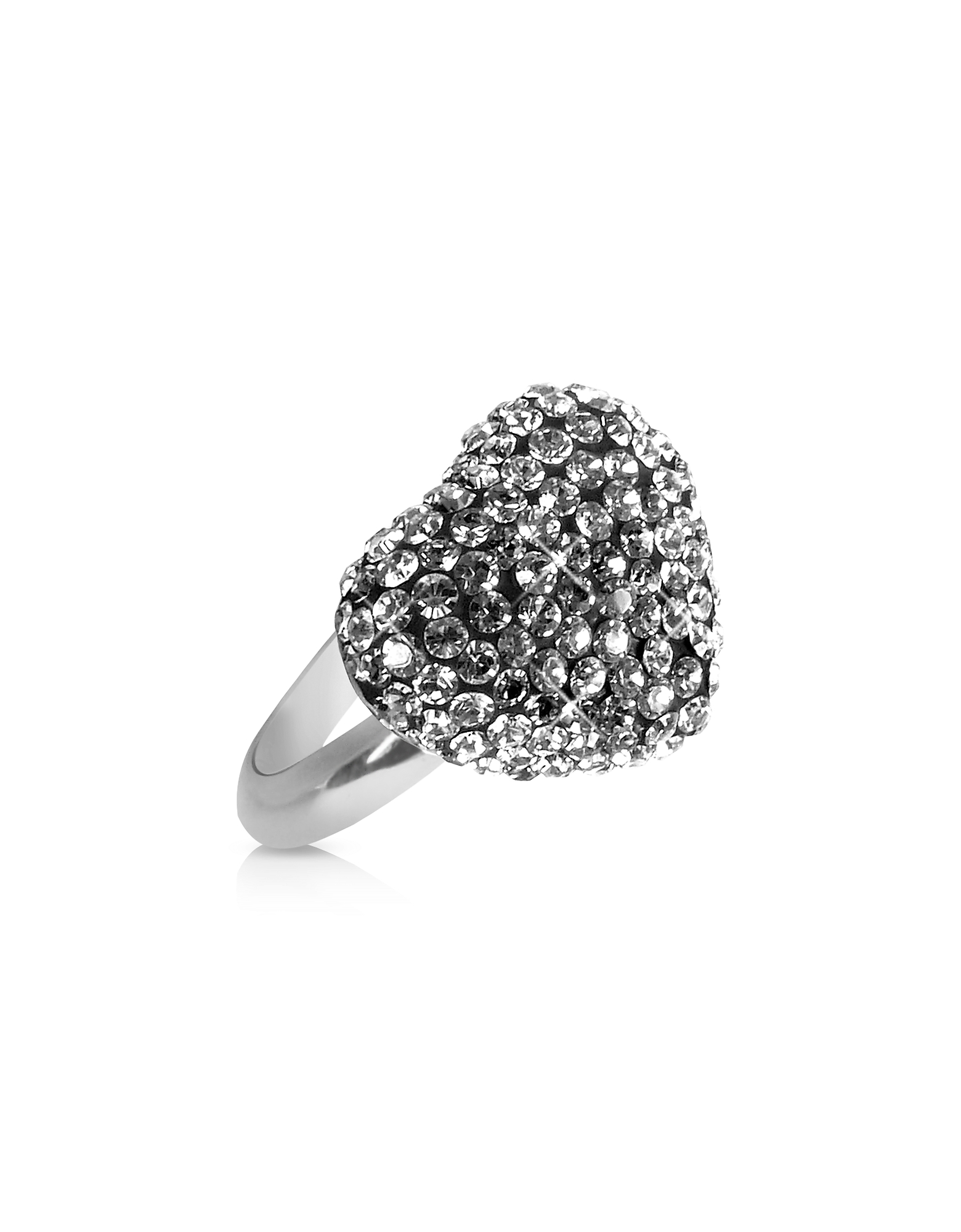 Gisèle St. Moritz Rings, Fantasmania - Crystal Black Heart Ring