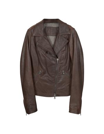 Lux-ID 307085 Brown Leather Motorcycle Jacket