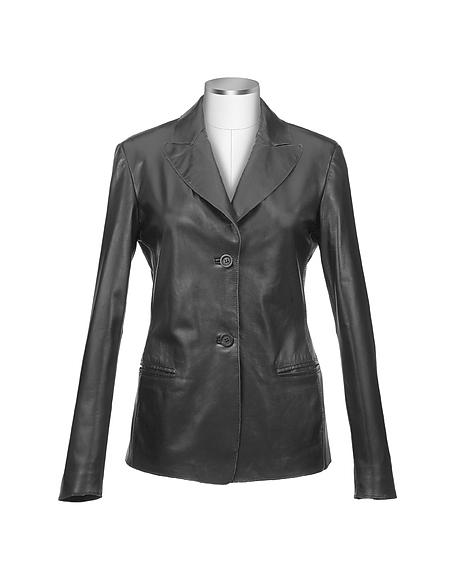 forzieri veste blazer femme en cuir italien comparer les prix et promo. Black Bedroom Furniture Sets. Home Design Ideas