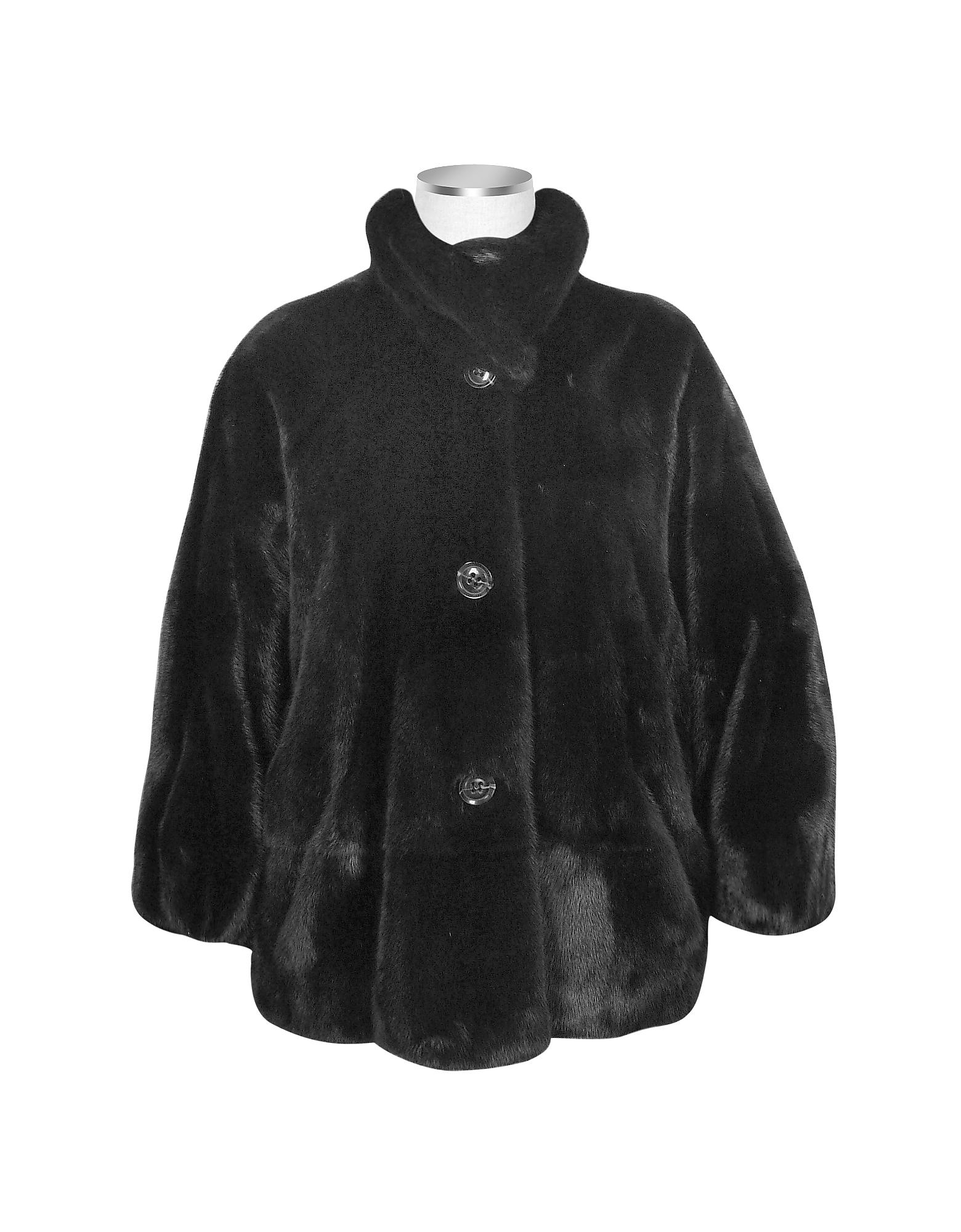 Ultimate Luxury Collection - Черное Норковое Манто