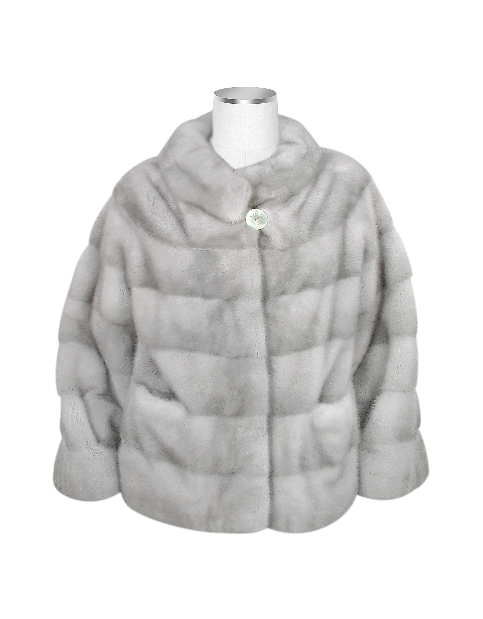 Ultimate Luxury Collection Gray Mink Fur Jacket