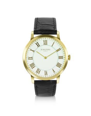 Donatello - Slim Leather Watch