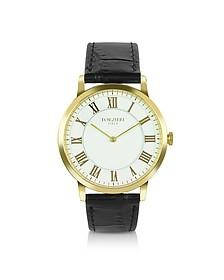 Donatello - Slim Leather Watch - Forzieri