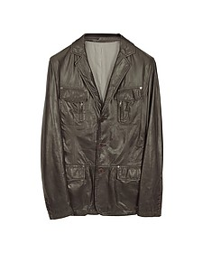 Leather Blazer Jacket - Forzieri