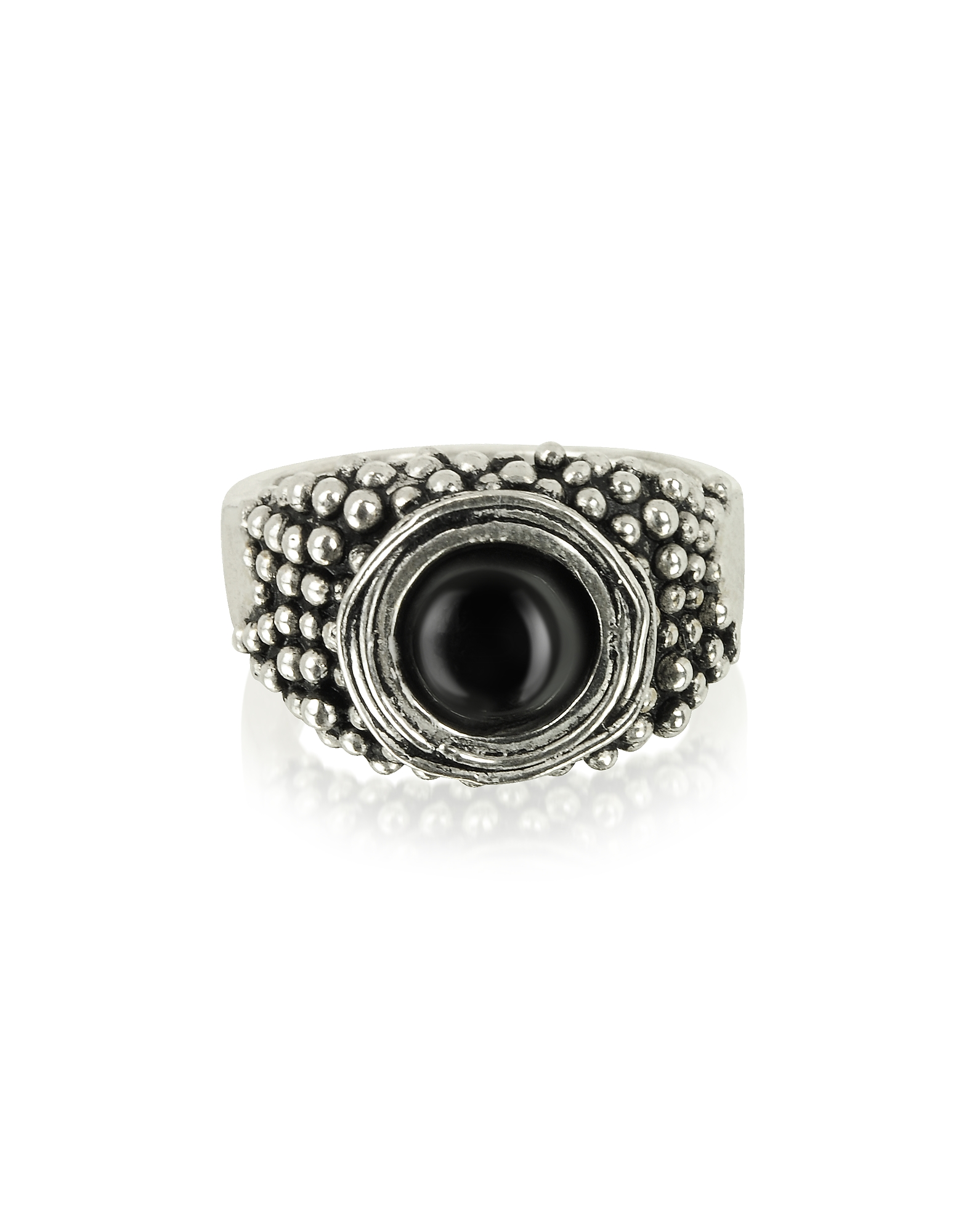 Sterling Silver Ring w/Onyx