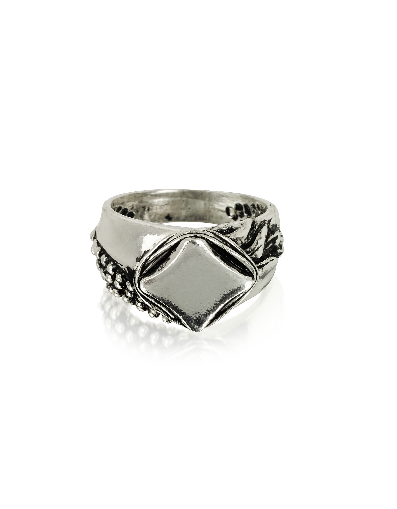 Sterling Silver Chevalier Ring