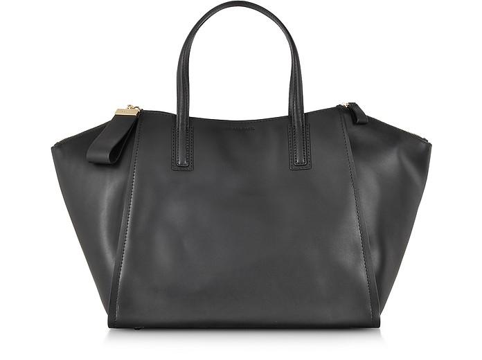 Annabella Leather Zip Tote - Gerard Darel