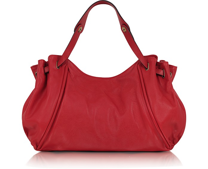 Oxford Leather 24-Hour Bag - Gerard Darel