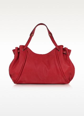 Oxford Leather 24-Hour Bag - Gerard Darel