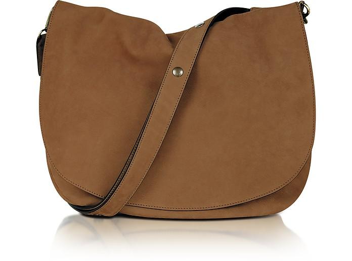 Santa Fe Suede Shoulder Bag - Gerard Darel