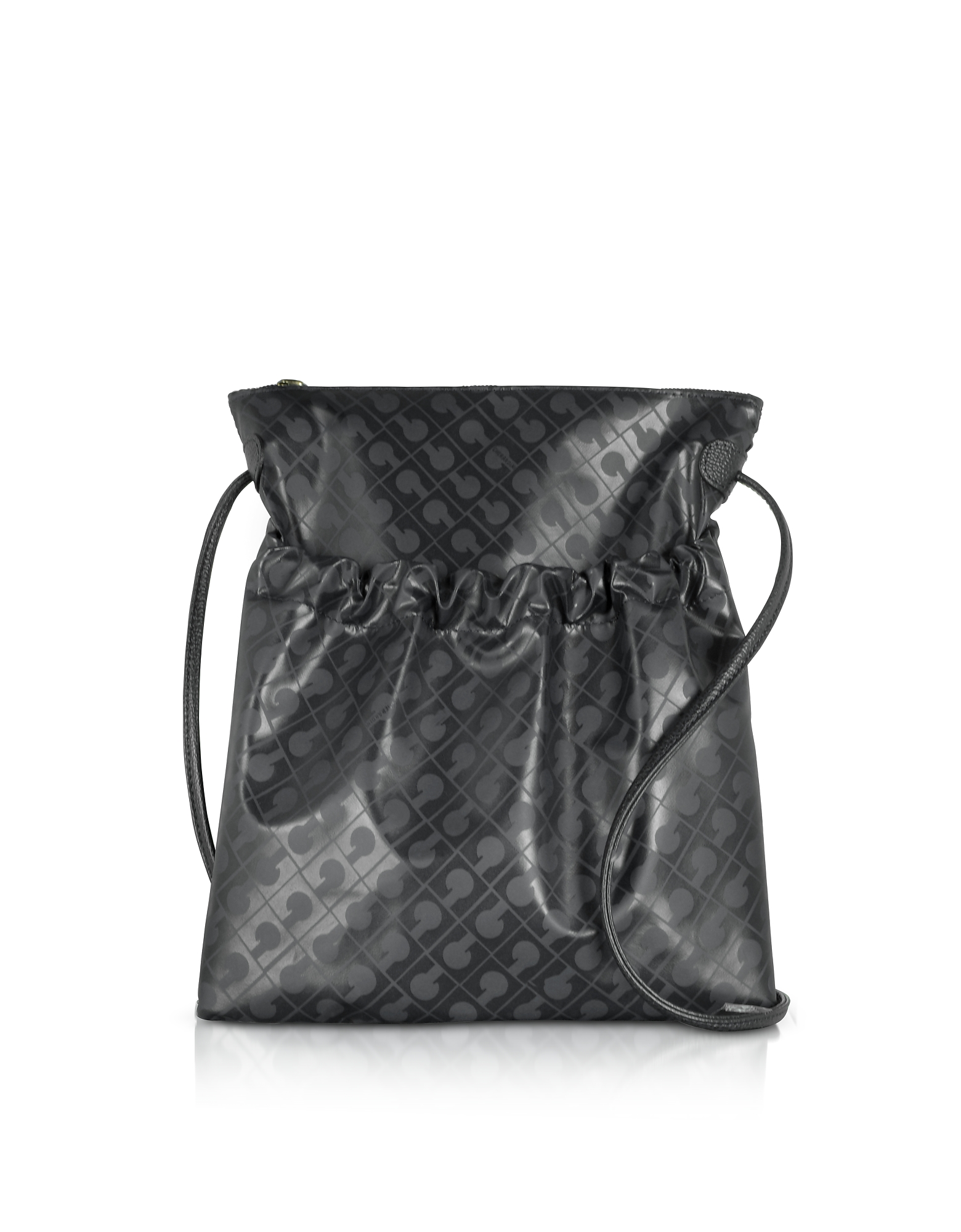 Image of Gherardini Designer Handbags, Signature Coated Canvas and Leather Softy Crossbody Bag