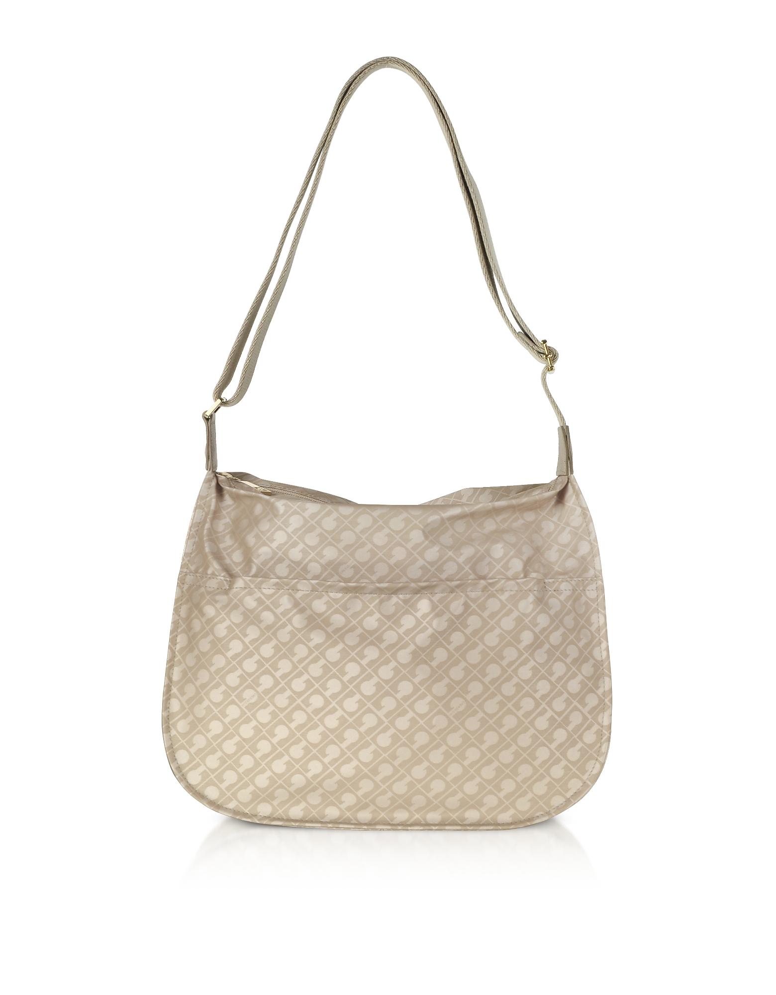 Gherardini Handbags, Signature Coated Canvas Softy Shoulder Bag