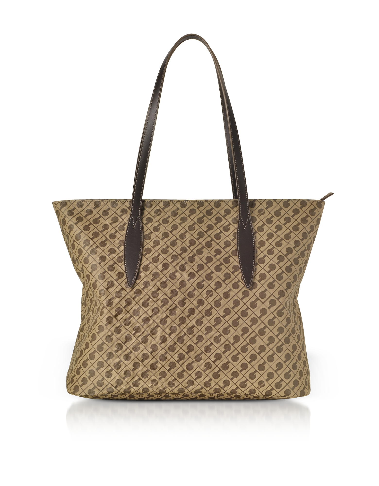 Image of Gherardini Designer Handbags, Millerighe Signature Tote Bag