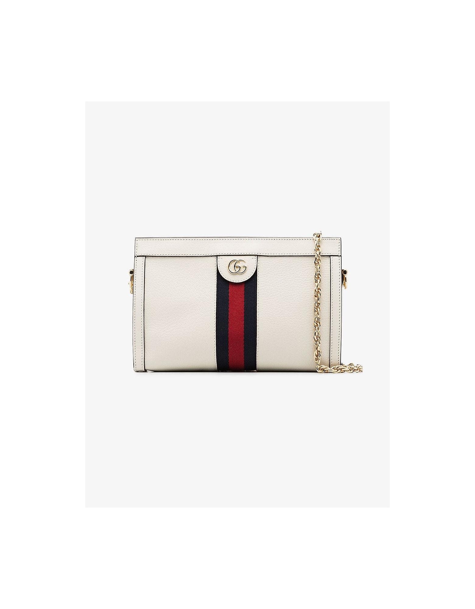 Gucci Designer Handbags, Small Ophidia shoulder bag