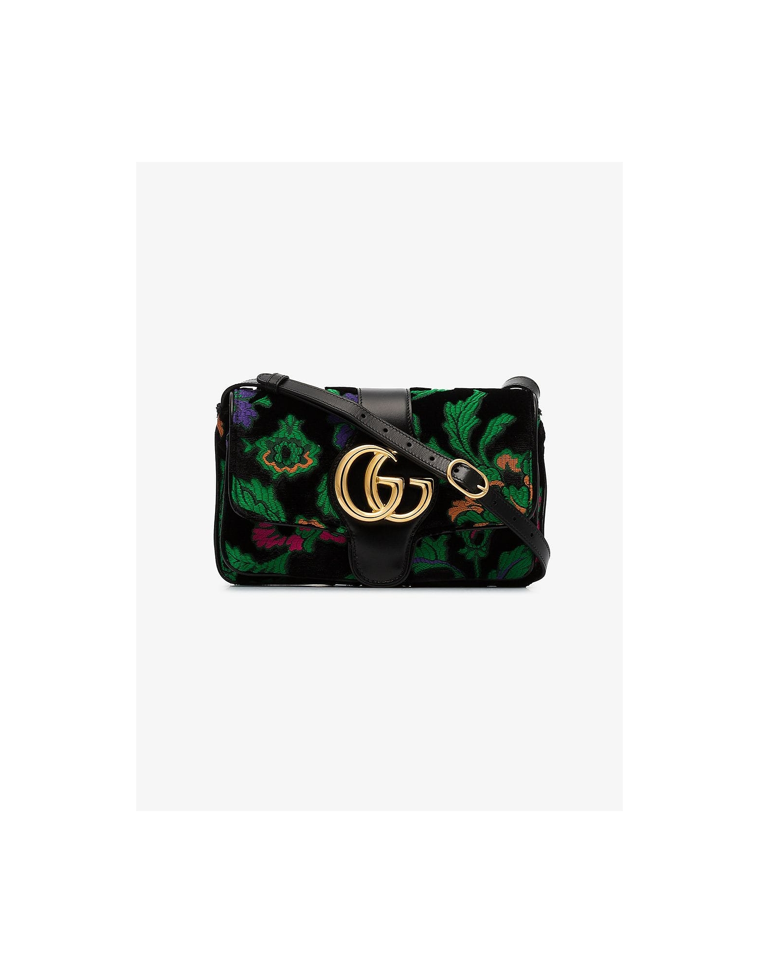 Gucci Designer Handbags, Arli Small Floral Shoulder Bag