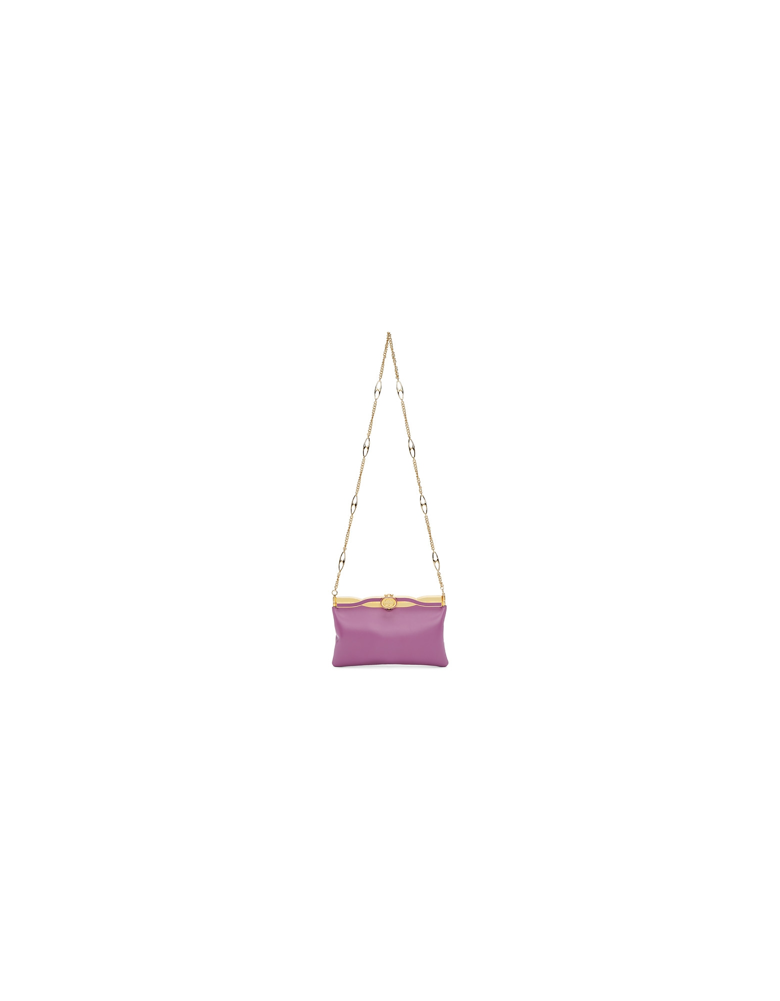 Gucci Designer Handbags, Purple Broadway Evening Bag