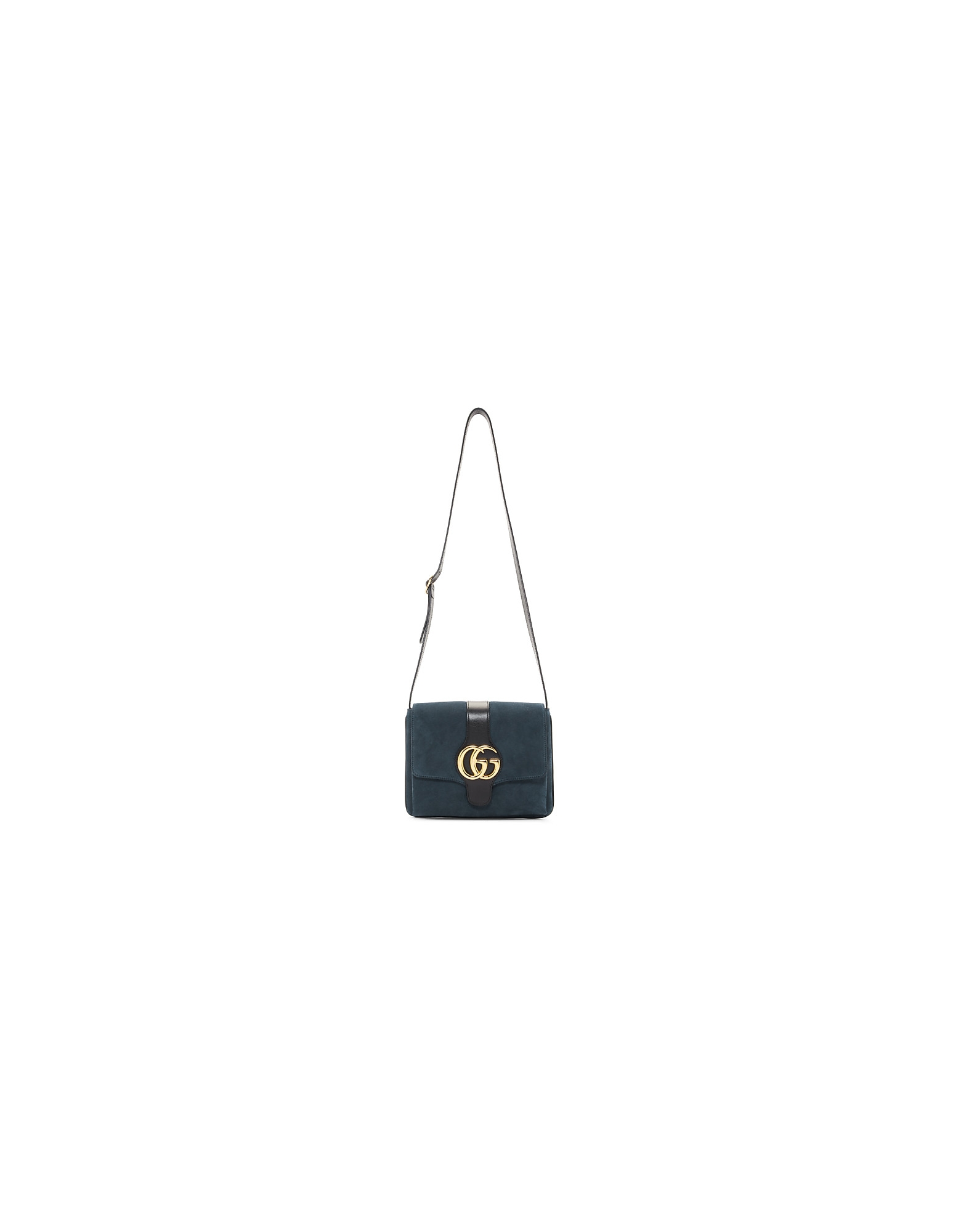 Gucci Designer Handbags, Blue Medium Arli Bag