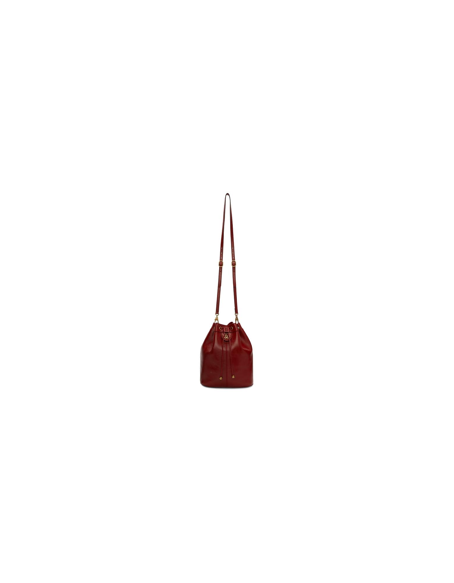 Gucci Designer Handbags, Red Rebelle Bag