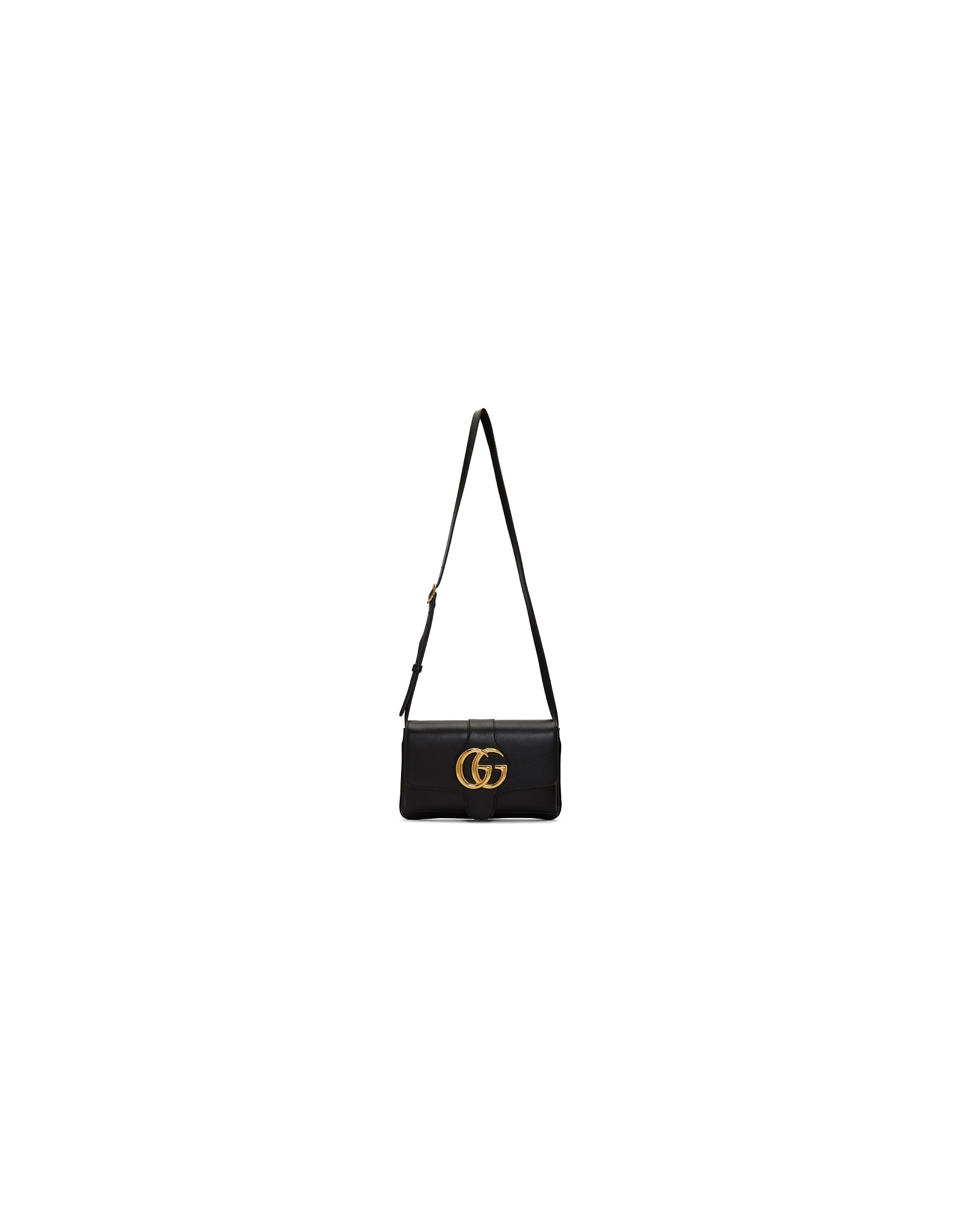 Gucci Designer Handbags, Black Small Arli Shoulder Bag