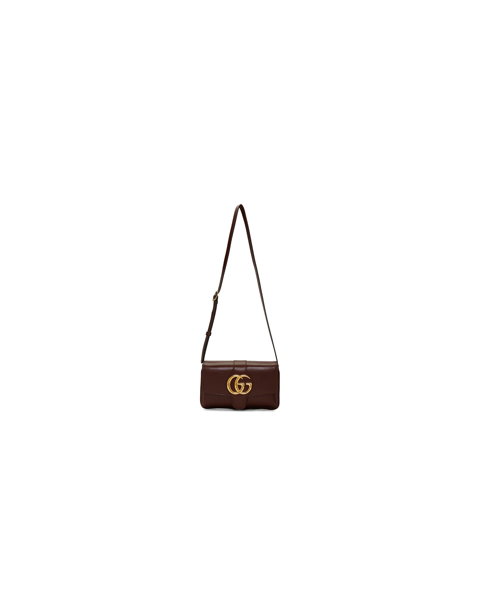 Gucci Designer Handbags, Burgundy Small Arli Shoulder Bag