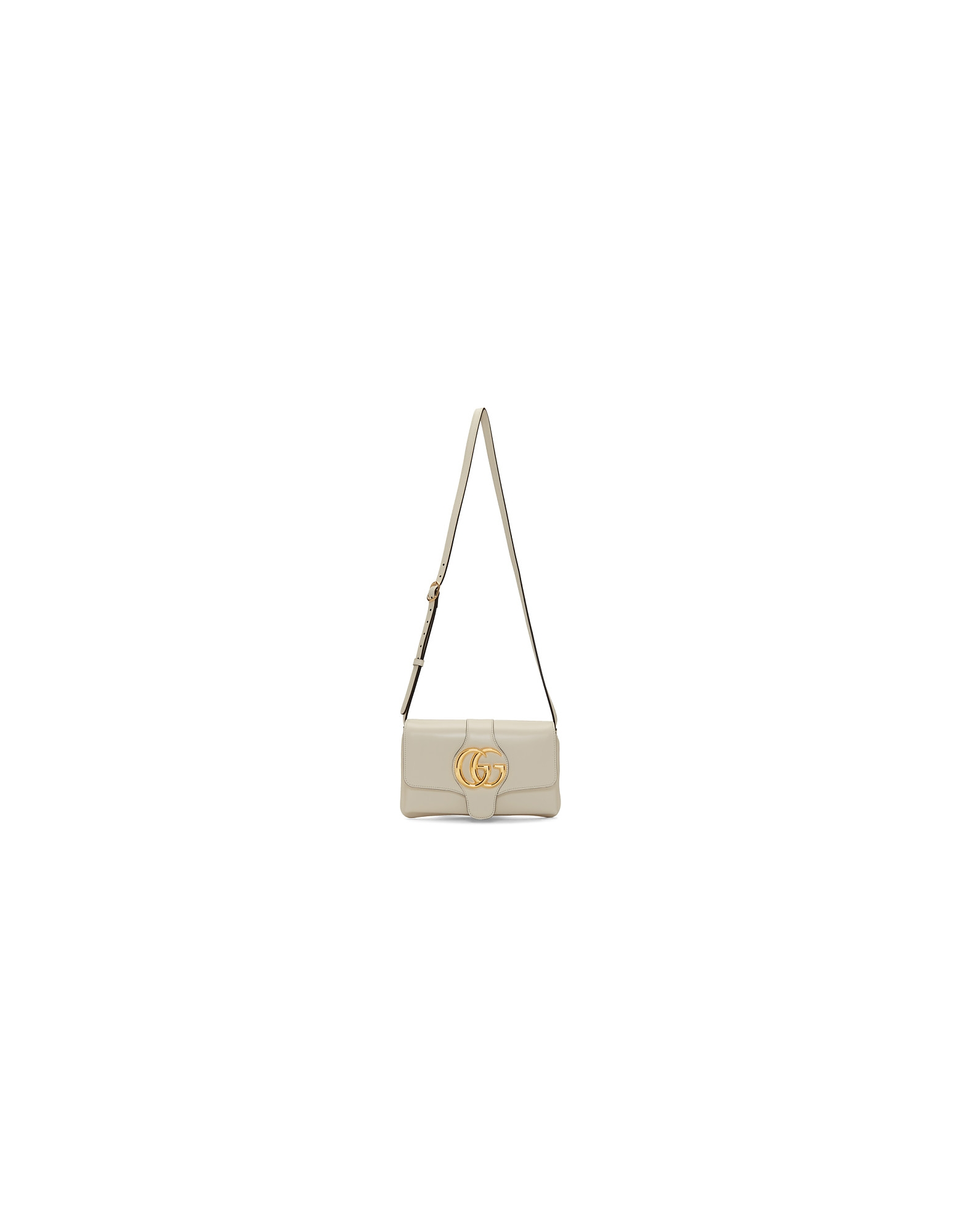 Gucci Designer Handbags, White Small Arli Shoulder Bag