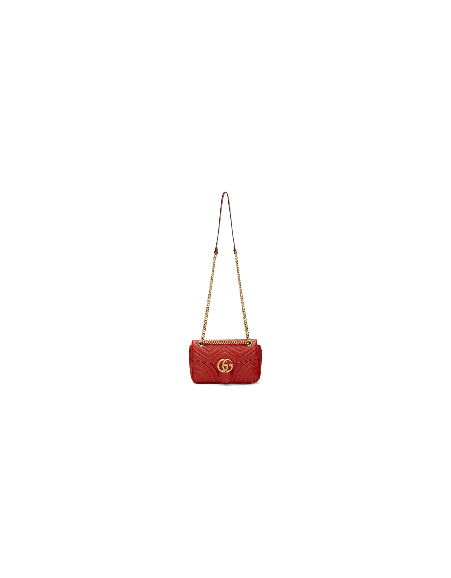 Gucci Designer Handbags, Red Small Marmont 2.0 Bag