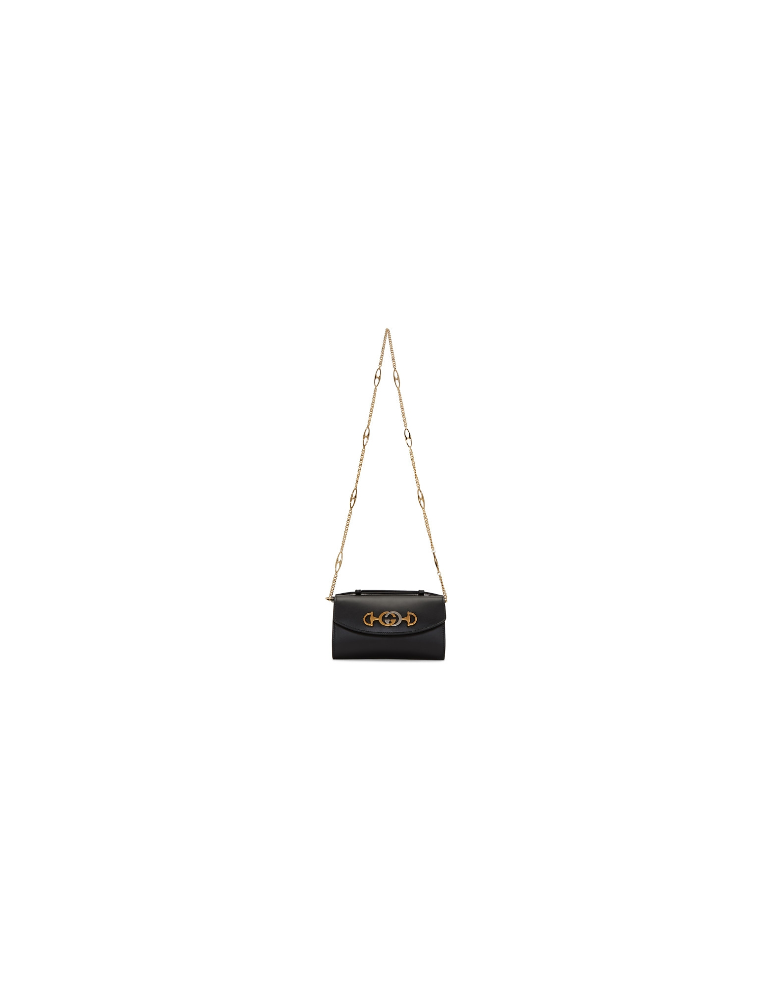 Gucci Designer Handbags, Black Mini Zumi Bag