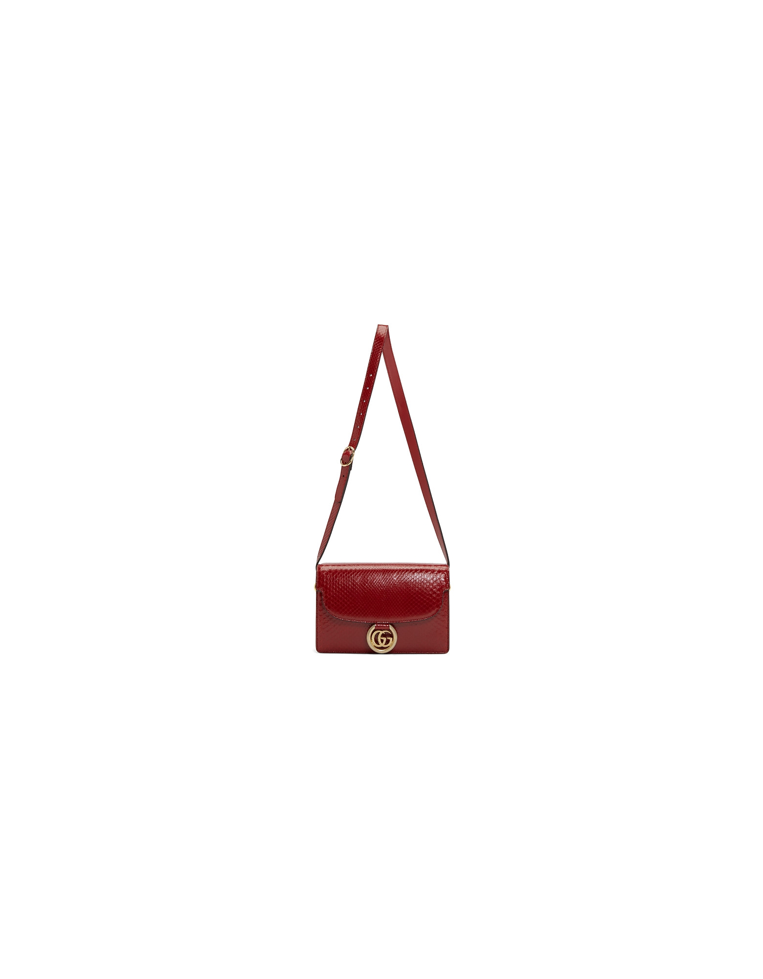 Gucci Designer Handbags, Red Small Snake GG Ring Bag
