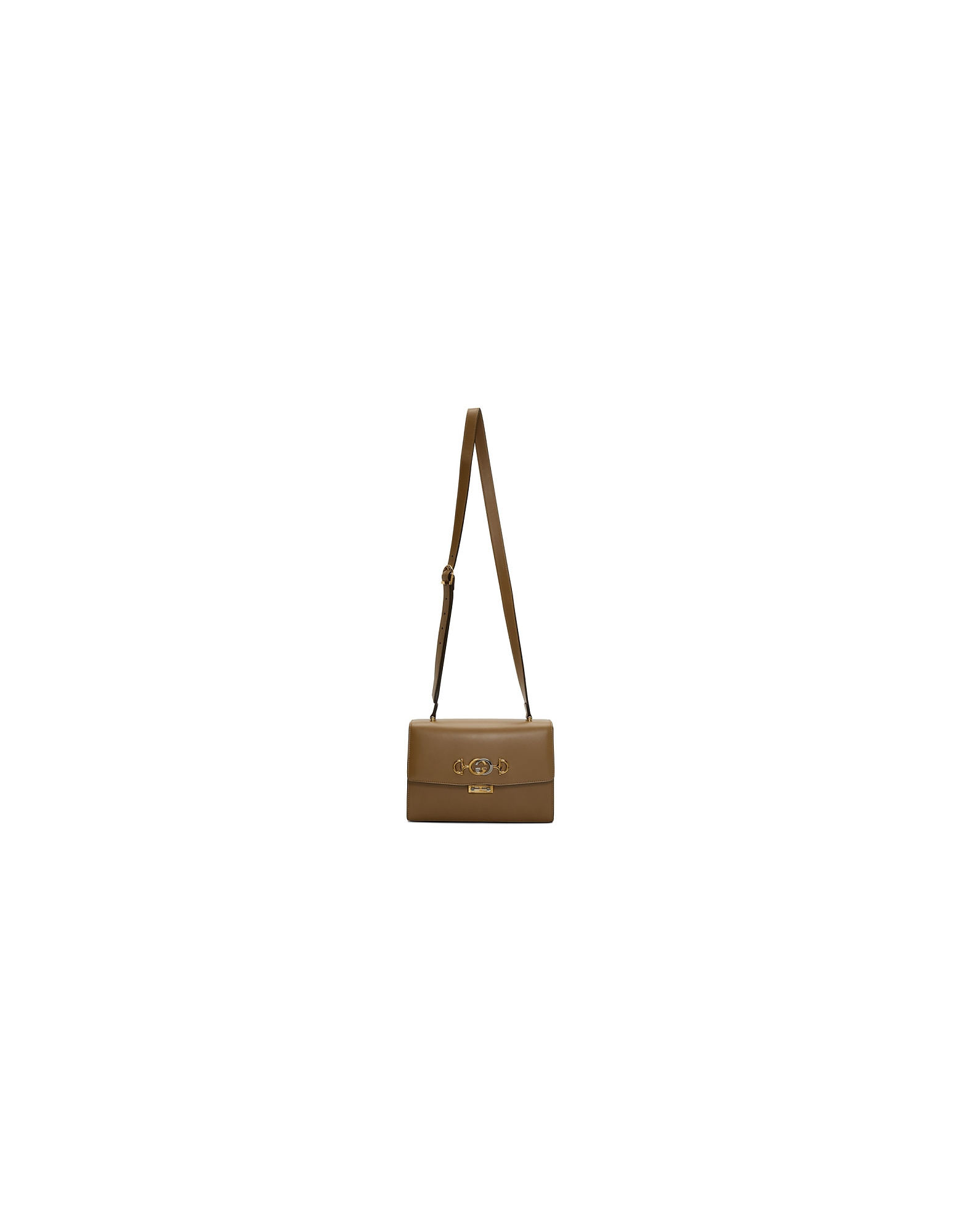 Gucci Designer Handbags, Brown Zumi Shoulder Bag