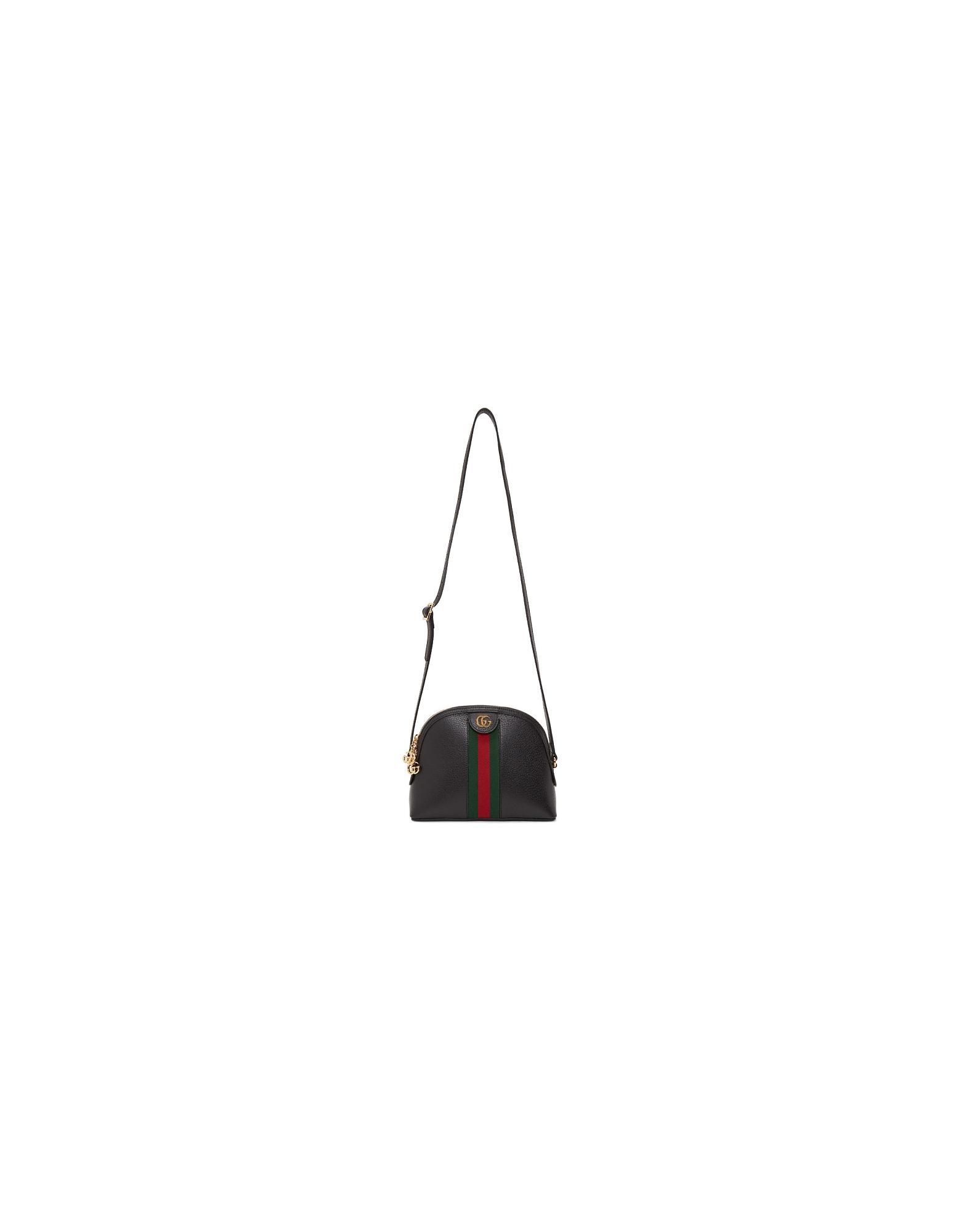 Gucci Designer Handbags, Black Small Ophidia Bag