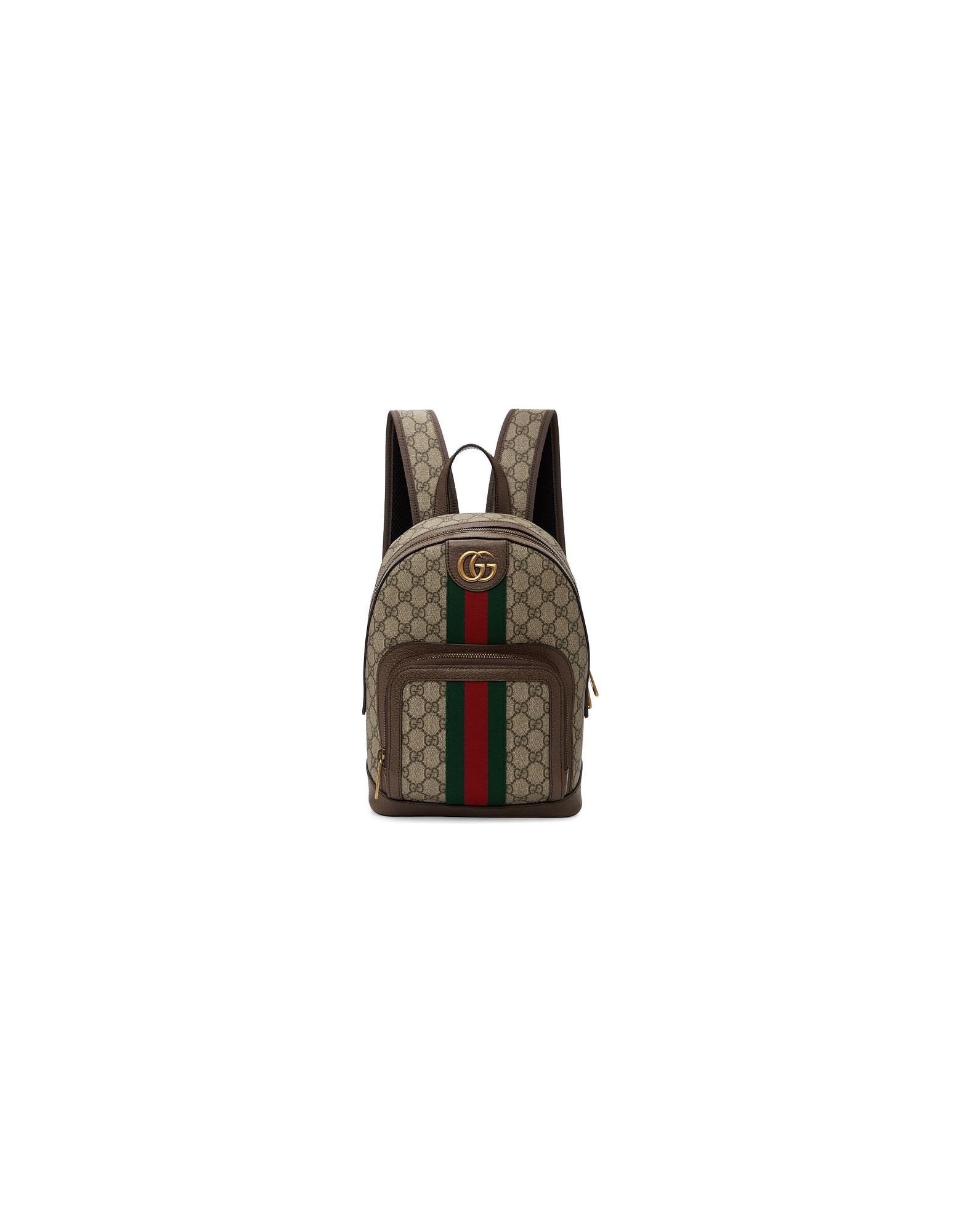 Gucci Designer Handbags, Beige Small GG Ophidia Backpack