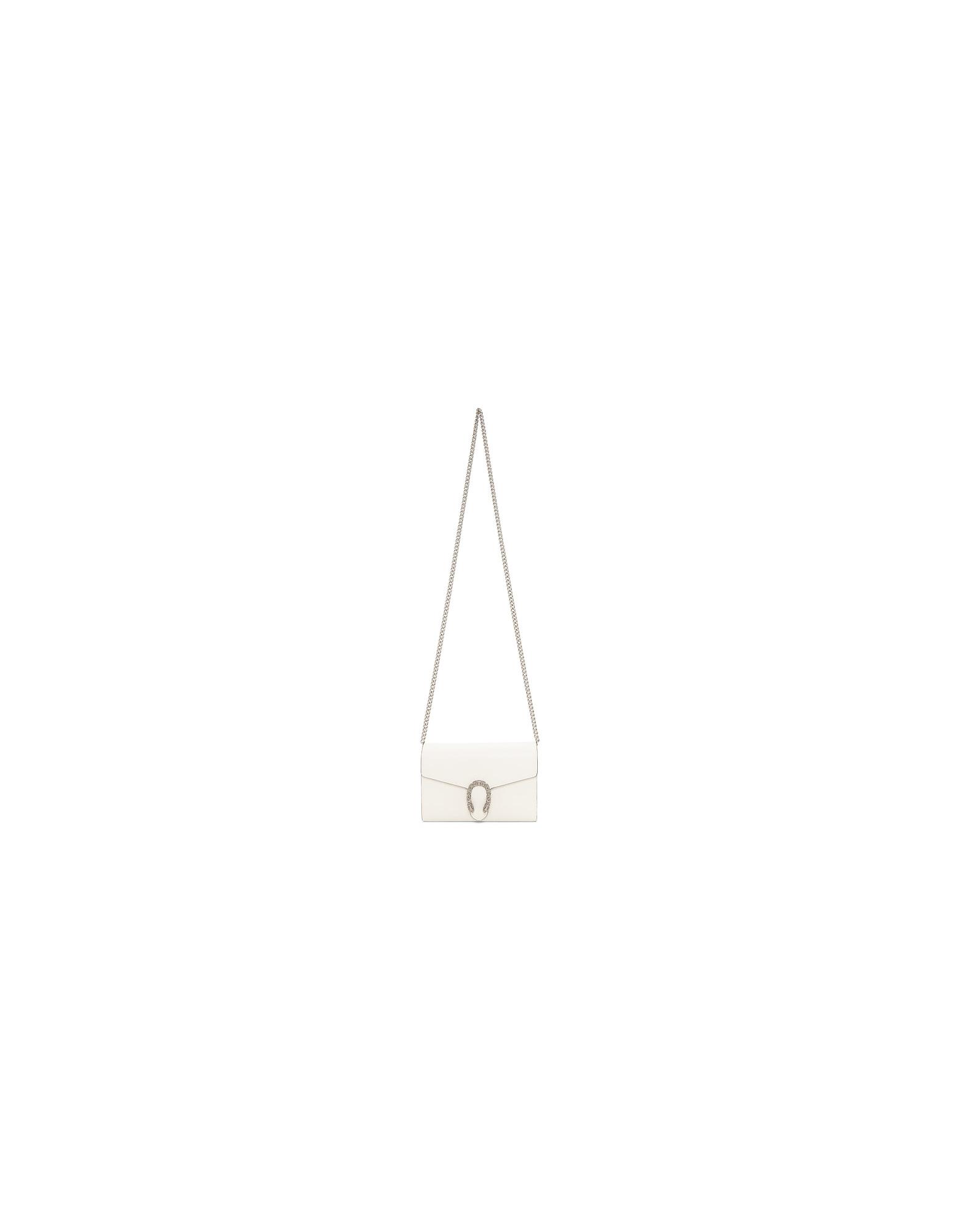 Gucci Designer Handbags, Off-White Dionysus Chain Wallet Bag
