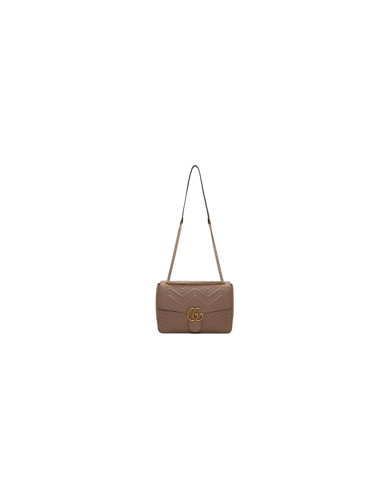 Gucci Designer Handbags, Pink Large GG Marmont 2.0 Bag
