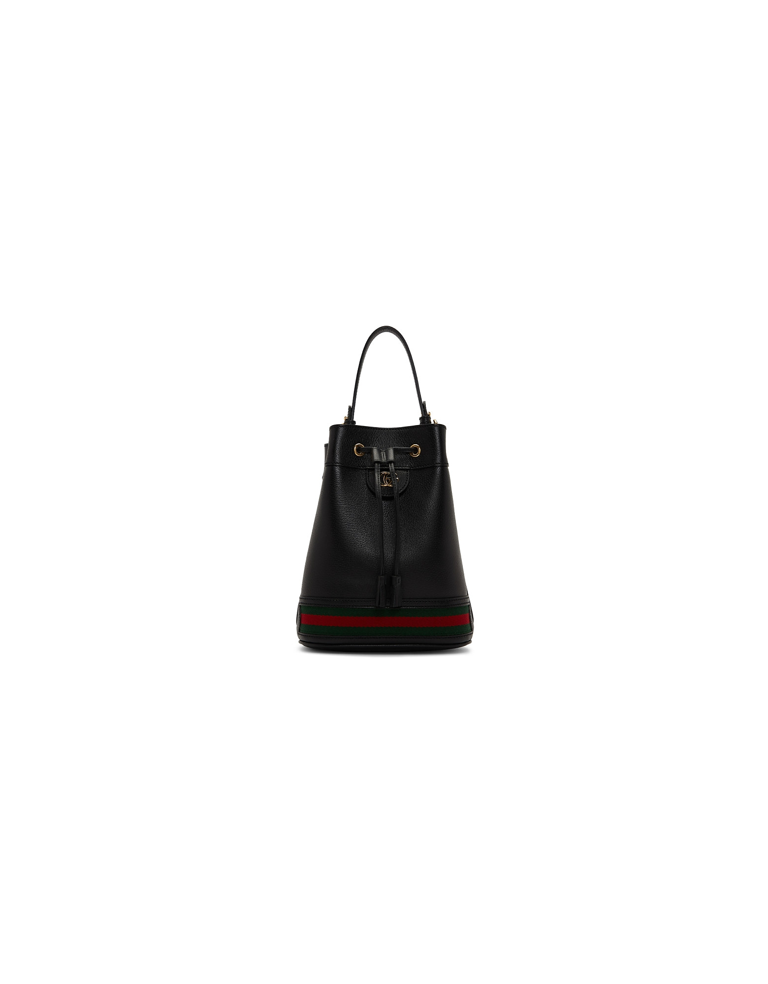 Gucci Designer Handbags, Black Ophidia Bucket Bag