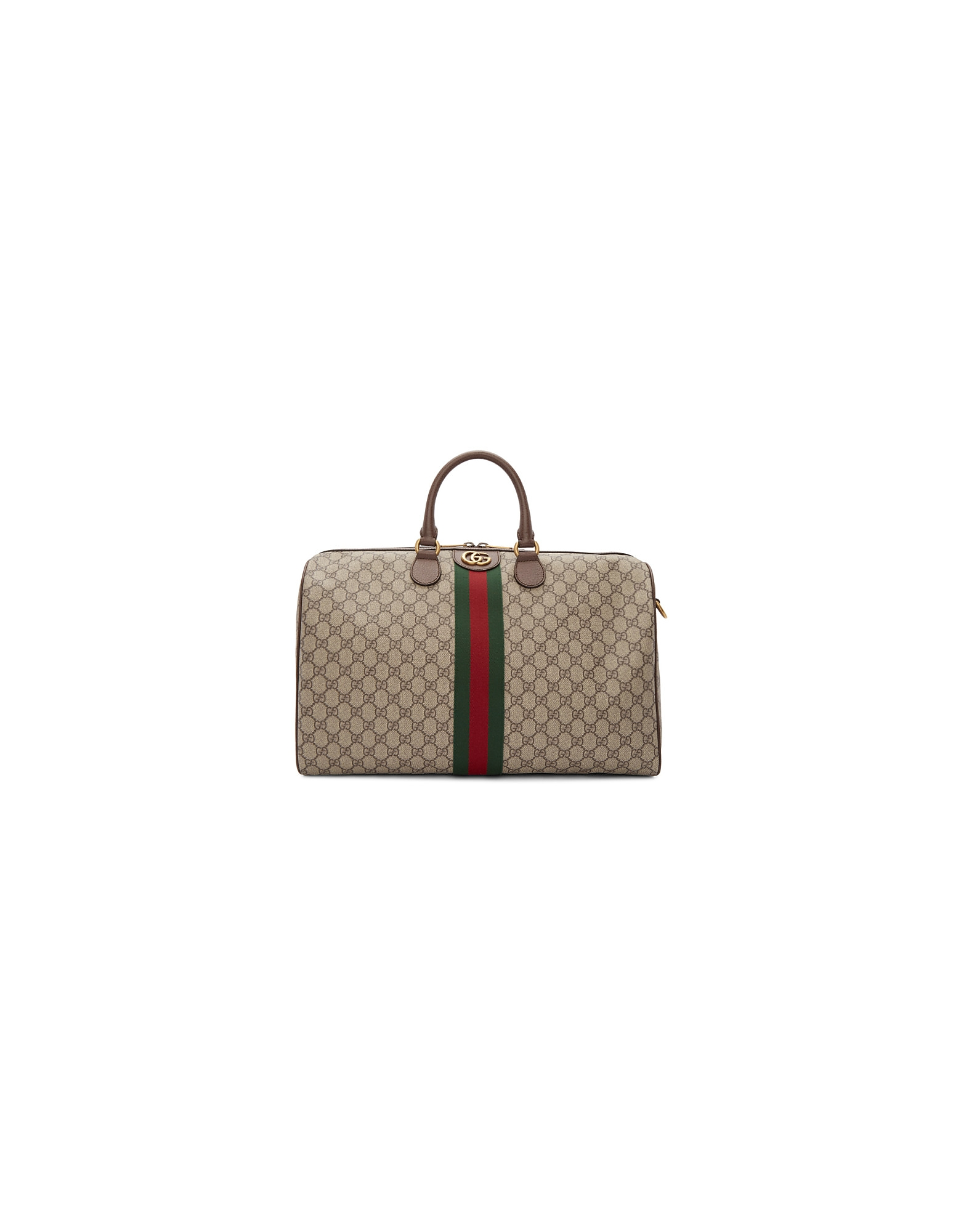 Gucci Designer Men's Bags, Beige Medium Ophidia Duffle Bag