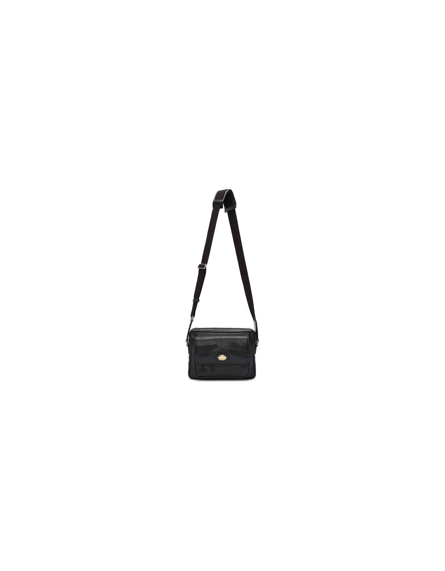 Gucci Designer Men's Bags, Black Morpheus Bag