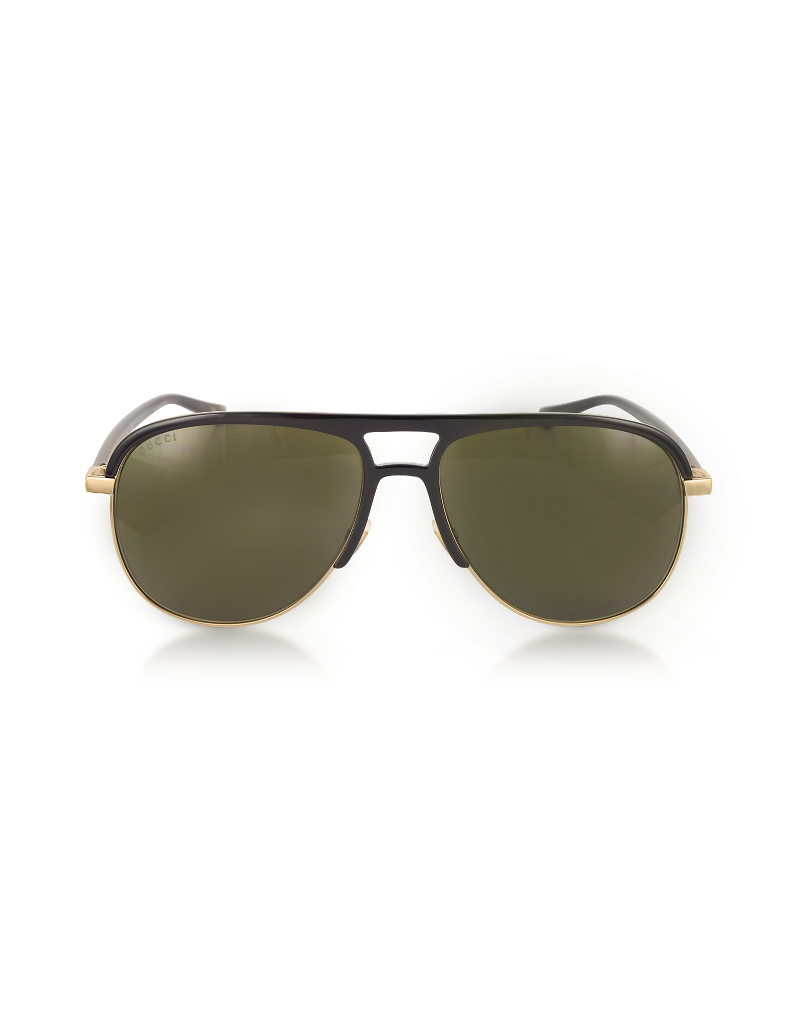 Gucci Sunglasses, GG0292S Metal and Acetate Frame Aviator Sunglasses