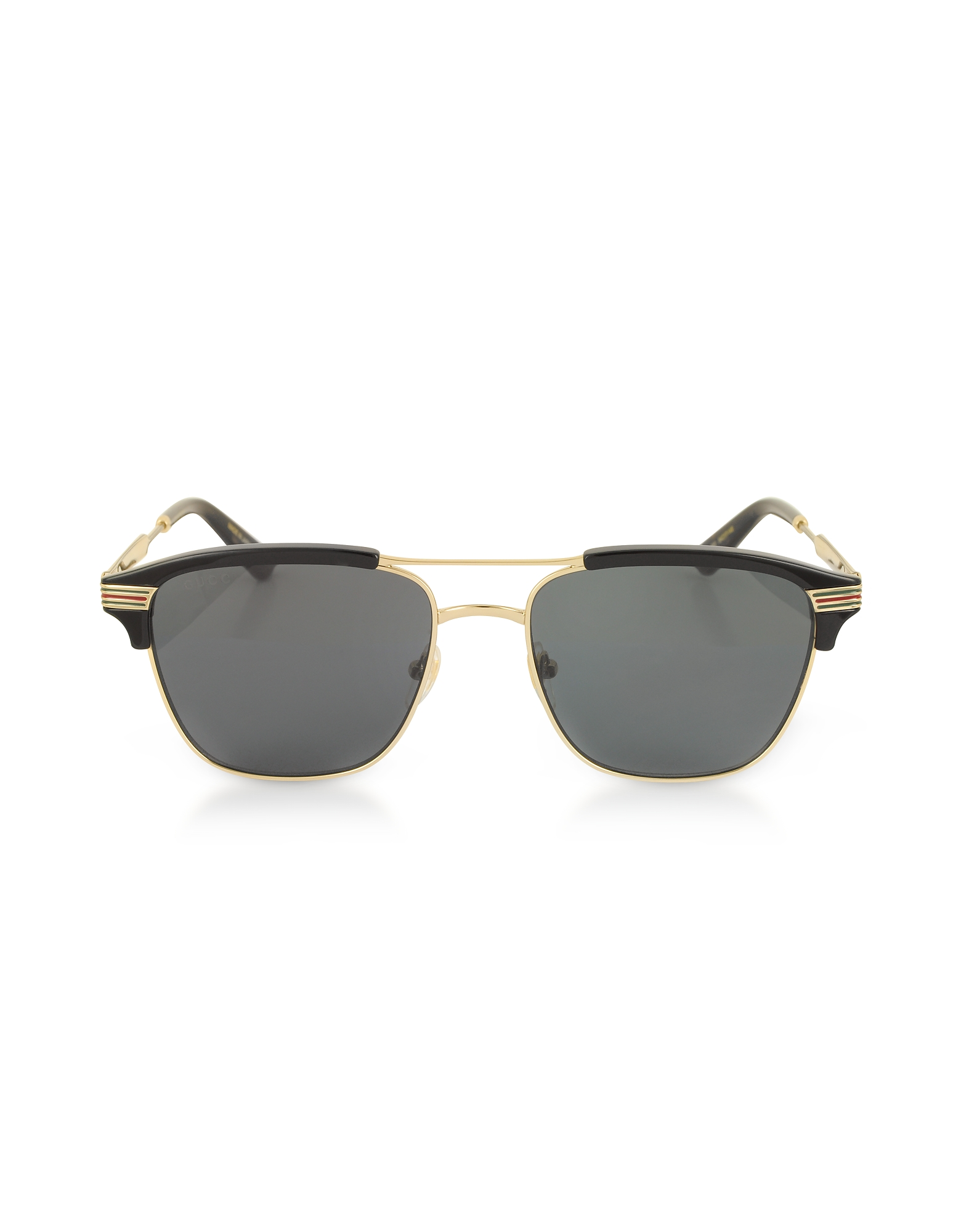 Gucci Sunglasses, GG0241S 002 Square-frame Metal Sunglasses