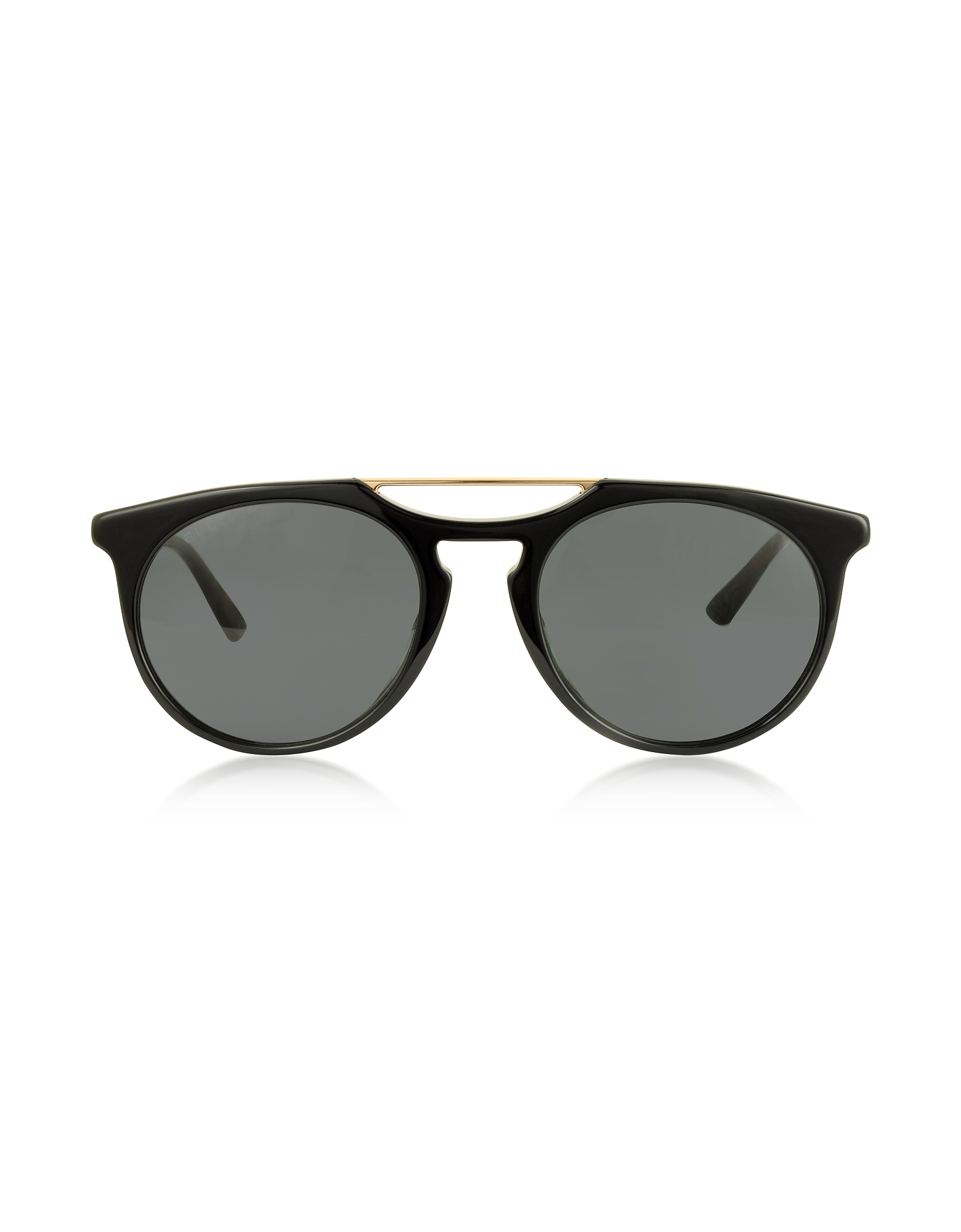 Gucci Sunglasses, GG0320S Round-frame Acetate Sunglasses