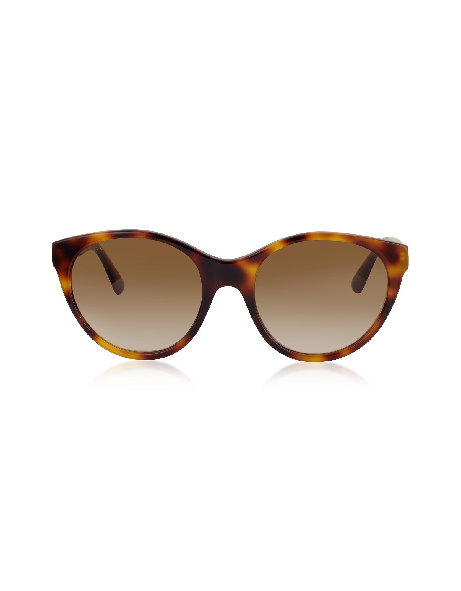 GG0419S Cat-Eye Acetate Frame Sunglasses