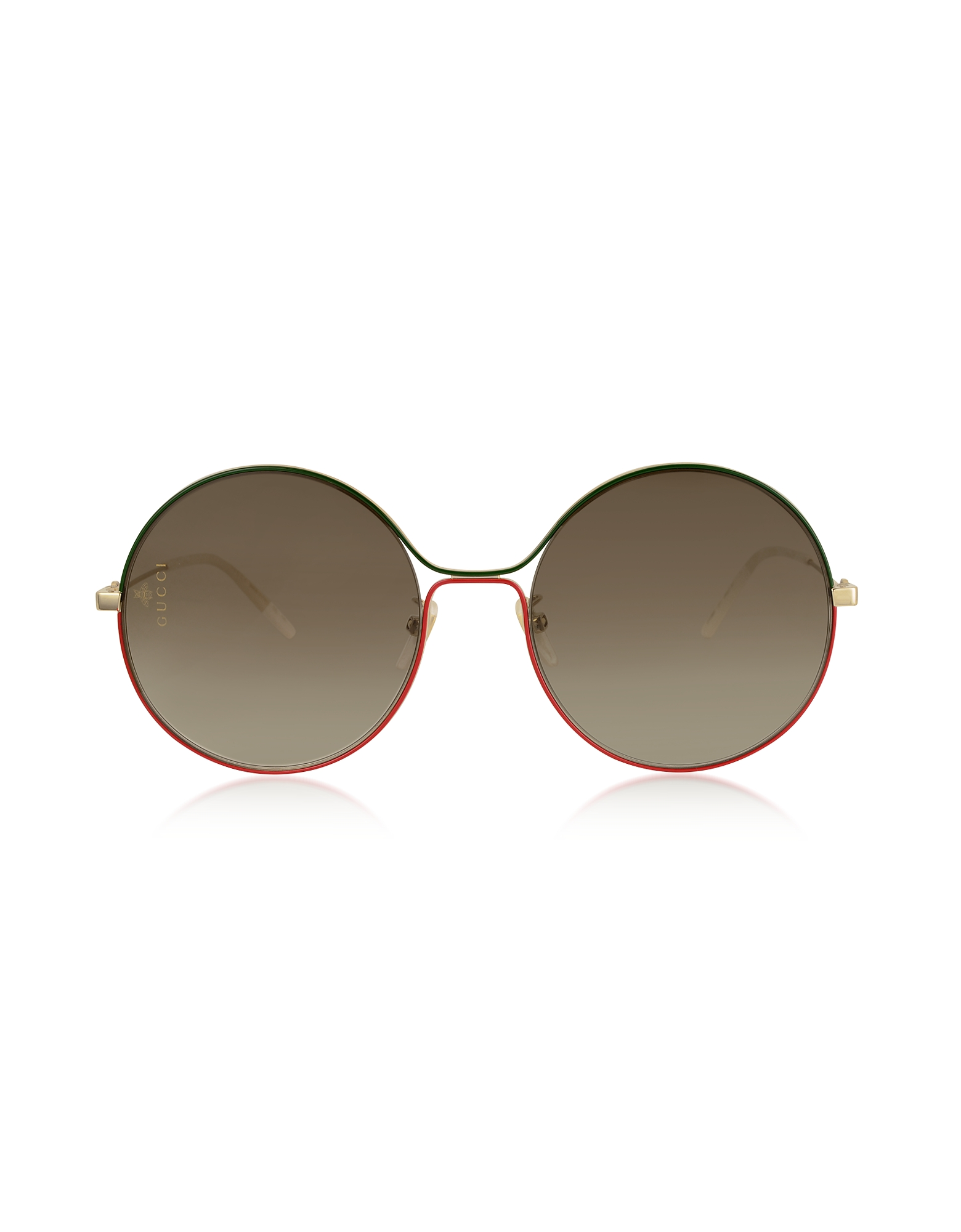 Gucci Designer Sunglasses, Aviator Metal Sunglasses