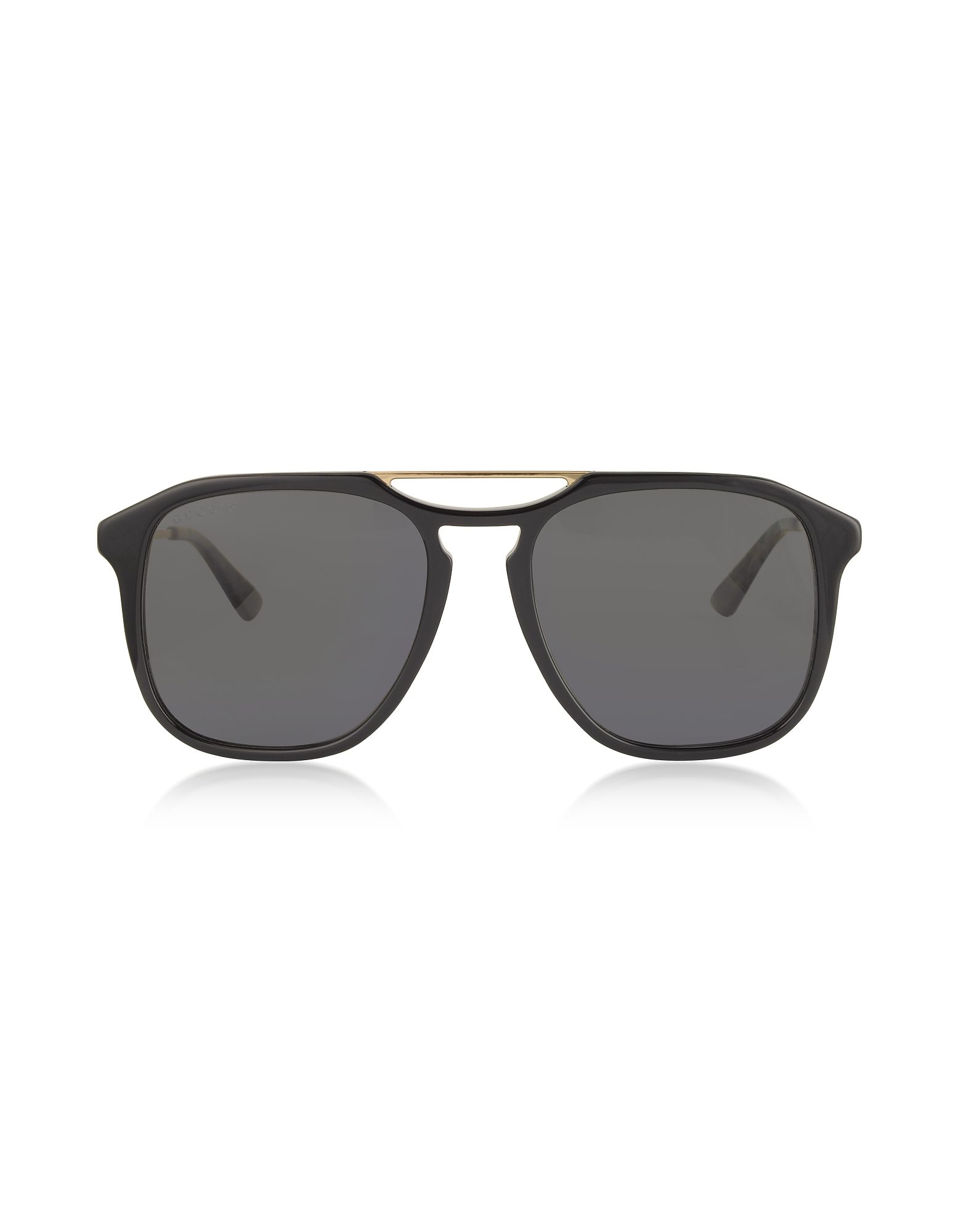 Gucci Designer Sunglasses, Square-frame Acetate Sunglasses