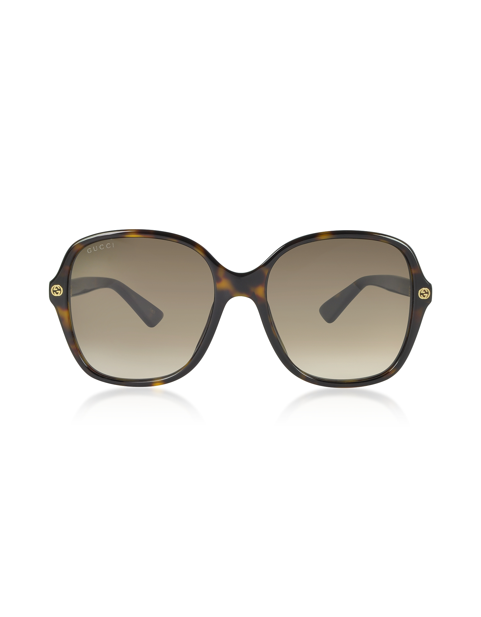 Squared-frame Acetate Sunglasses