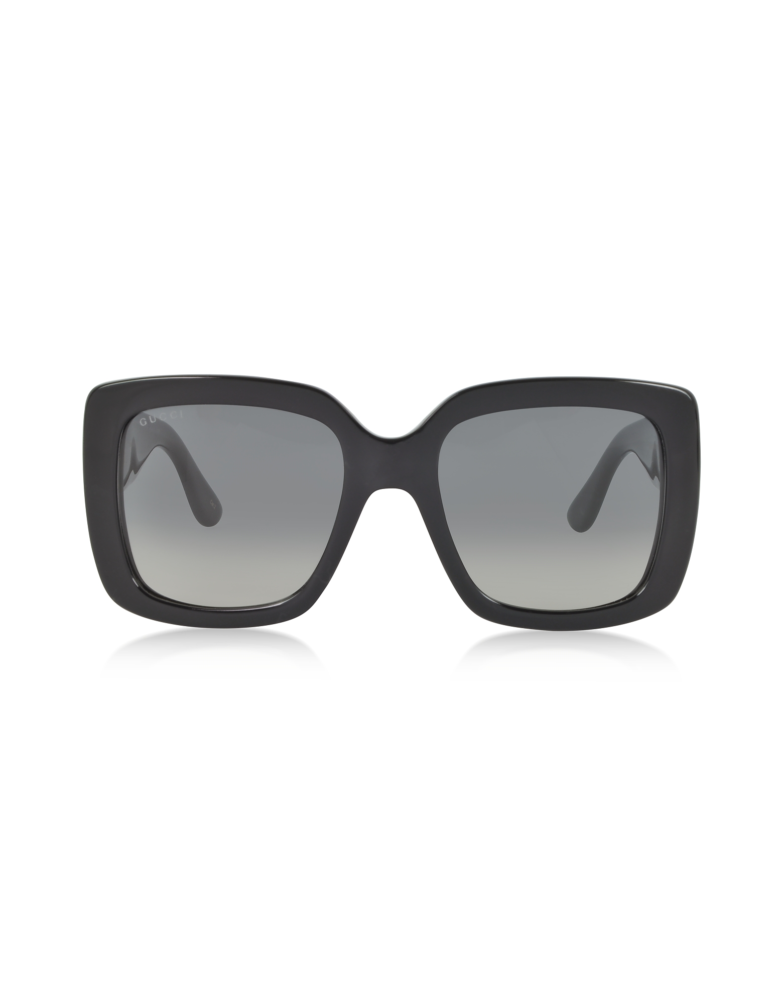 Black Oversized Square Frame Women's Sunglasses