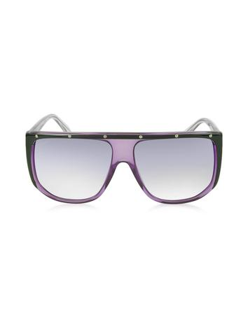 Lux-ID 210525 GG 3705/S 9W2DH Large Shaded Mask Women's Sunglasses