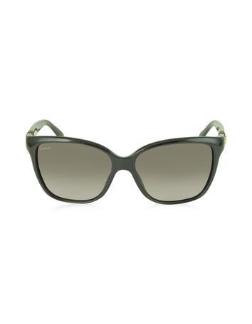 Lux-ID 210529 GG 3645/S Shiny Cat-eye Women's Sunglasses