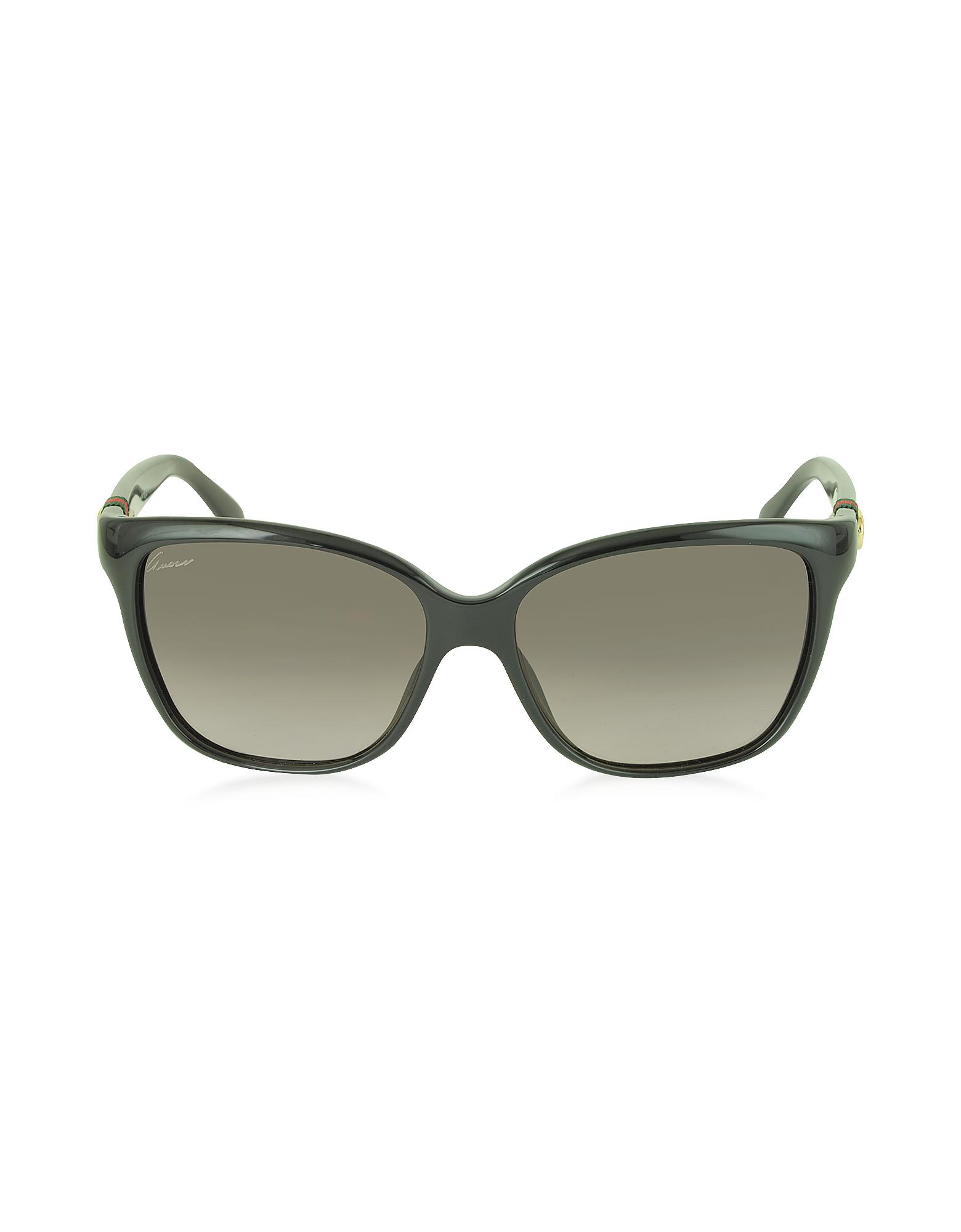 GG 3645/S - Блестящие Женские Солнечные Очки Кошачий Глаз