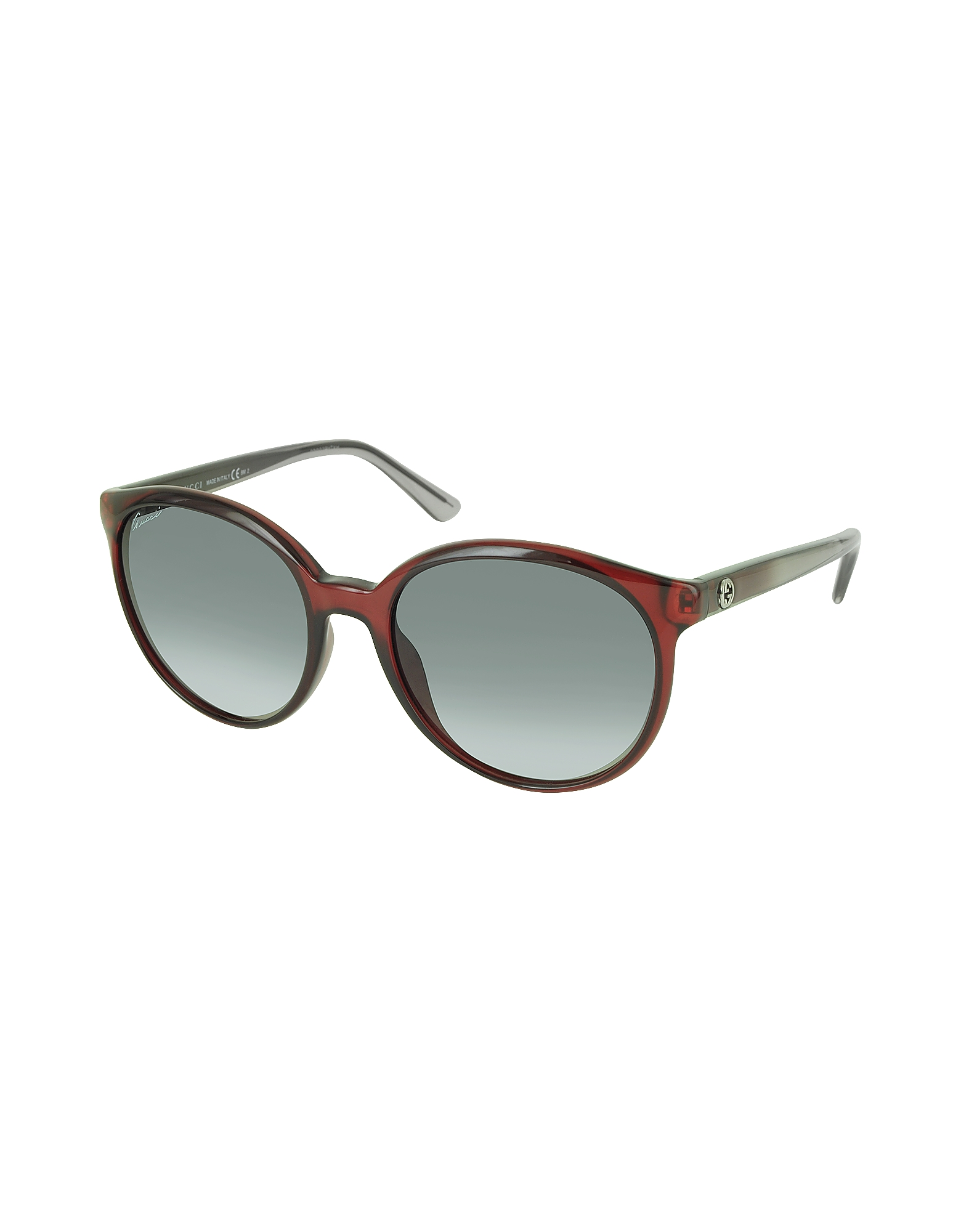 GG 3697/S IPUDX Round Havana Women's Sunglasses от Forzieri.com INT